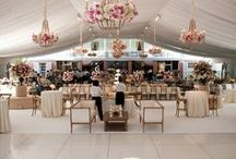Tented Weddings  / Tenting ideas for weddings and events