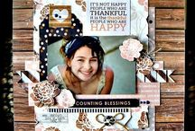 Scrapbooking {Traditional} / Scrapbooking inspiration, ideas and tipa / by Holly Connors