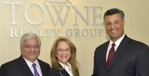 At home with Towne Realty Group, LLC / I love working in an office with local, loyal professionals who know their business and work hard for themselves, their clients and the community. My Townies.