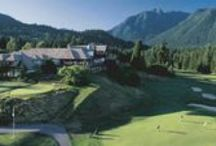 Golfing / Golf courses on Vancouver's North Shore, ranging from pitch n putt fun for the family to serious mountainside 18 holes.
