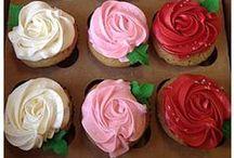 Baking: Cupcakes / What the title says. Cupcakes. Everything. Cupcakes. Endlessly. Ceaselessly. Cupcakes. / by Awanthi Vardaraj {awanthi.com}