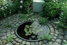 garden . WATER FEATURE / by Denise Mares