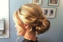 Hair Up-Do.