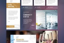 Web design, UI