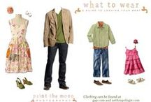 What to Wear | Casey Green Photography / Suggestion & ideas to help clients decide on their photo shoot outfits.   / by Casey Green Photography