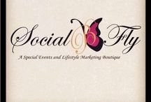Events by SocialBFly / An inside peek of my lovely lifestyle marketing and special events boutique, affectionately known as SocialBFly.   For more information, visit our website at www.socialbfly.com