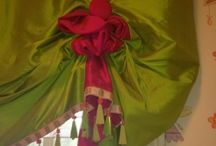 All In The Details III: Interiors / Ball Gown Curtains, Gilding, Contrasts, Buttons and Bows, Oh My! / by Karen McCreary