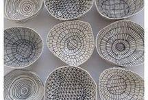 Papery Ideas:  handmade paper vessels / Paper bowls using handmade paper