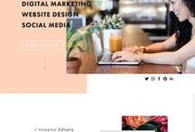 Web Designs / I've created this board to showcase beautifully handcrafted websites designs!   I'd love for you to join me, the only rules are no spamming and to keep on trend with Wordpress designs, templates, and themes!   WANT TO JOIN? Send me a message on Pinterest with a website layout you love and I'll add you to the board :)