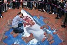 Chalk Art / by Kathleen Rogers