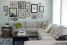 Home: Living Room / by Haley Lewin