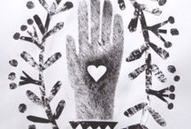 Heart in Hand / by Primitive Hare Isobel-Argante