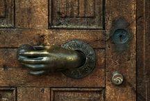 Door handle / by Primitive Hare Isobel-Argante