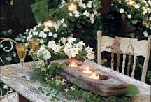 Backyard Heaven / by Sara C- LuckyInLoveDesigns