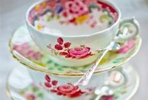 tea cups and tea time