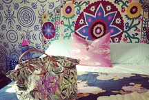 Pretty Pattern / A collection of fabulous patterned rugs, fabrics and wall papers.