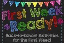 Back to School / ~ Tips & Ideas for Beginning the School Year ~ / by Liz Langoski