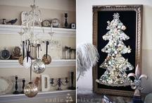 Silver & Gold on a White Christmas / by Sadie Carol
