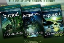 Twisted Cedars - a Mystery Series / Characters, setting & book cover images that inspire my Twisted Cedars Mysteries.