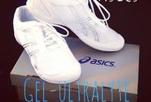 Asics Cheerleading Shoes / Amazing cheerleading shoes by Asics designed specially for the cheer athlete.