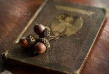 Acorns / by Primitive Hare Isobel-Argante