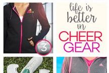 Cheerleading Style / Just because it's cheerleading practice, doesn't mean you can't look good.