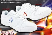 Axeus World Cheerleading Shoes / Axeus World. Come to our world In the world of Axeus – clothing fits, shoes perform, champions are made