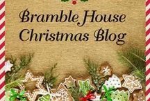Christmas Around The World / Here are the photos and recipes from the Bramble House Christmas Blog that went viral in SNOWBOUND in MONTANA