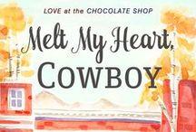 Love at The Chocolate Shop / Characters, setting and inspiration of the Love at The Chocolate Shop series (by authors C. J. Carmichael, Melissa McClone, Debra Salonen, Roxanne Snopek and Marin Thomas