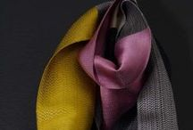 Scarves! / scarves - knitted and woven. gorgeous and flowing.