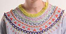 Embroidery + Needlework / Embroidery, cross stitch, needlework.