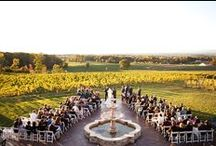 Vineyard Weddings at Raffaldini Vineyards / Turn your dream of a vineyard wedding into reality with these photos from our romantic, Tuscan-style estate.  Raffaldini Vineyards has the perfect package for any of your events from family celebrations to corporate meetings.  Relish in La Dolce Vita at Raffaldini Vineyards.