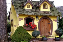 What cute little houses!