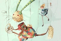Hares and Rabbits / Magical and  beautiful creatures / by Ann Leadley