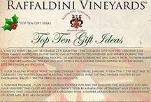 Events at Raffaldini Vineyards / Raffaldini Vineyards offers a wide array of events that are great for a variety of occasions. Bring a loved one to a Four Seasons Wine Tasting Dinner for a romantic night out. We have several opportunities that are perfect for a fun-filled day with your girl friends!