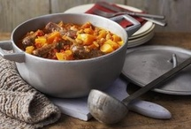 food - soups, stews, chili / by Paula Bell