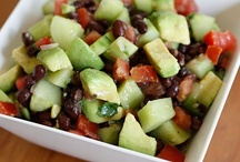 food - salads / by Paula Bell