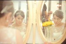 Vanessa ♥ Andre / Vanessa + Andre mini-wedding  / Short Audrey dress (customized)  / Voillete and hair silk flower accessorie A MODISTA Photos Mira Cervino - http://miracervino.com/vanessa-e-andre