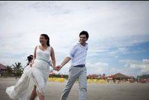 Caroline e Fernando / Custom made wedding dress from  A MODISTA Atelier Photos Agua Benta - Arthur Curval http://aguabentafotografia.com.br/casamento-no-litoral-sul-caroline-♥-fernando