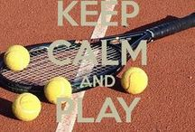 tennis. / by Rachel Myers