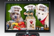 The Canine Chefs. ...and more / Homemade recipes for your Dogs.  Foods to avoid, keeping dogs healthy, exercise for Dogs, Tips, tricks, Dog Dining, Decor and More.