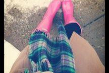 Fall/Winter Fashion / by Rachel Myers