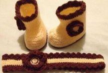 Tejidos a crochet para el bebe / Gorritos, zapatitos, y muchos tejidos a crochet pensando en tu bebé / by BabyCenter en Español
