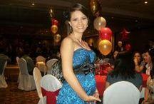 Vestidos de fiesta para embarazadas / Trajes de fiesta y celebraciones especiales durante el embarazo. / by BabyCenter en Español