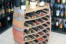 DIY Wine Crafts / Are the wine corks you have been saving overflowing?  Or perhaps you have a spare wine barrel that you have been meaning to do something with.  Perhaps some of the ideas here can help!