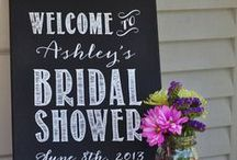 Bridal Shower Ideas / by Black Bridal Bliss
