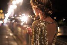 Sparkle + Shine / a little sparkle, glitter + shine.