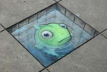 Street Art / fantastic Art out on the Streets and Buildings around the World. / by Ann Leadley