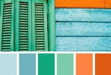 someday: paint & walls / paint colors for inside the blue house
