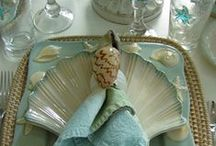 Beach Inspired Table Settings